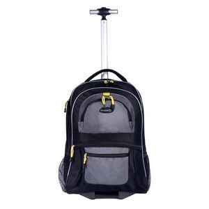 "TPRC 19"" Rolling Backpack with computer section"