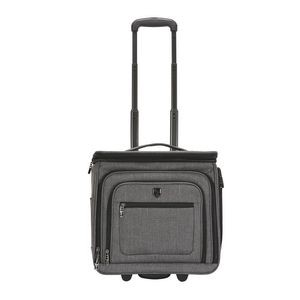 "16"" TPRC Top-Expandable Underseater Rolling Carry-On w/USB Charging Port"